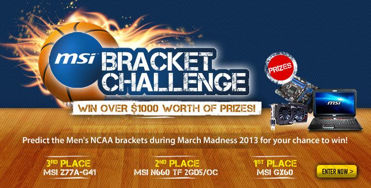 BRACKET CHALLENGE